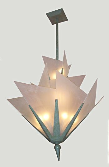 Vintage And Antique Lighting Art Deco Style Chandelier