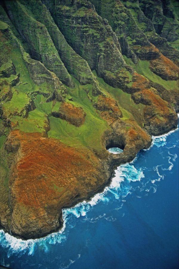 Na Pali Coast Hawaii Kauai Aerial