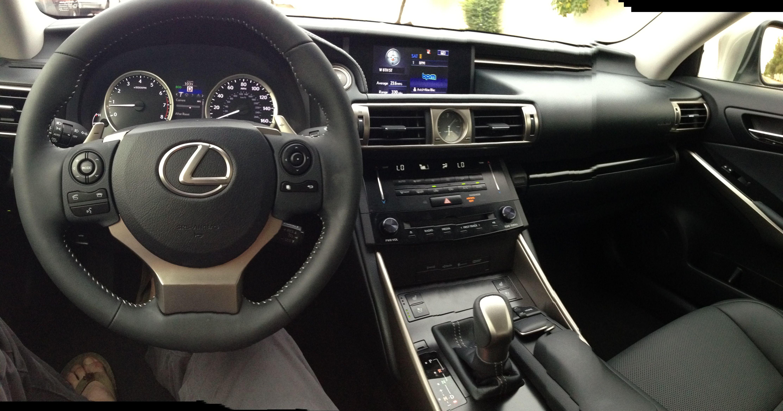 2014 Lexus iS250 inside panoramic photo Random
