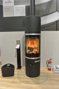 Scan 83 wood burning stove - Cornwall- Wendron Stoves ...