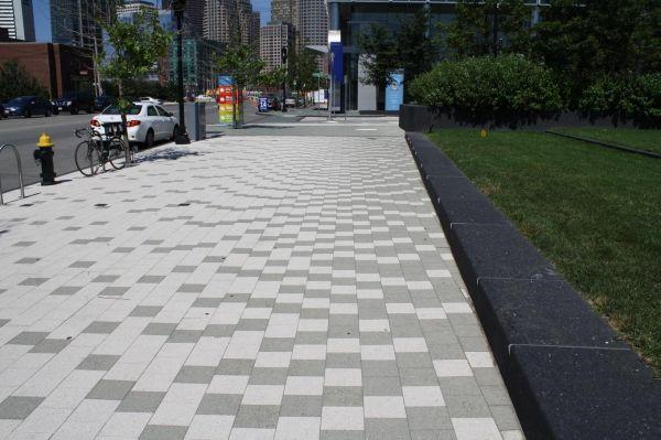 landscape paving pattern eye-catching