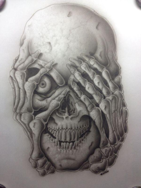 Skull Tattoo Drawings