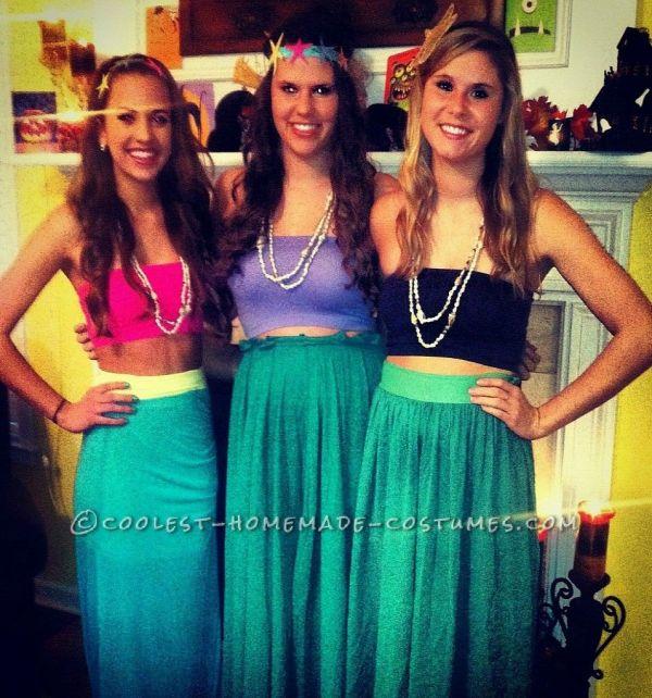 Easy Mermaid' Cove Girls Group Costume Girl
