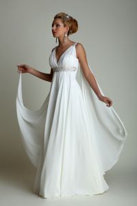 Greek Wedding Dresses on Pinterest | Tan Suit Groom ...