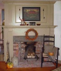 Classic Colonial Homes Interior Fireplace Trim | Beautiful ...