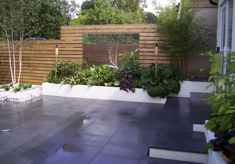 Contemporary Garden Designs For Small Gardens Google Search