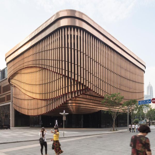 Foster And Heatherwick Build Shanghai Arts Centre With