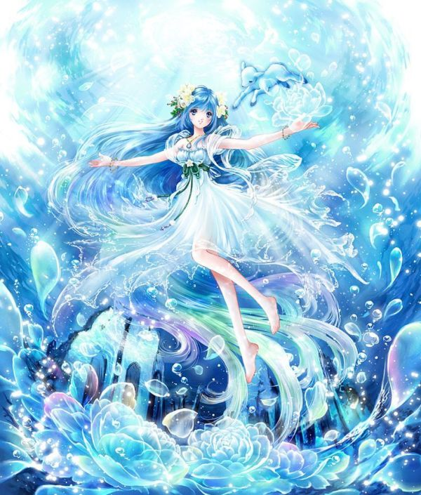 Anime Water Fairy Princess Realm of ElvesPixies