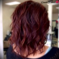 Sangria Ombre..I used #F18hair by @enjoyhaircare...her ...