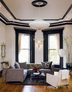 Bold black paint makes the home   architectural bones really stand also get look modern victorian contemporary design and rh nz pinterest