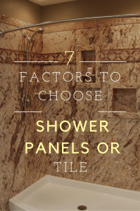 Are shower wall panels cheaper than tile? 7 factors you ...