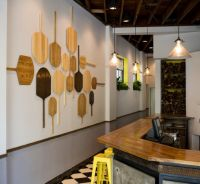 pizza paddle on restaurant wall - Google Search ...