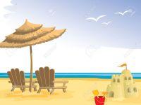 Beach Umbrella And Chair Cartoon | www.imgkid.com - The ...