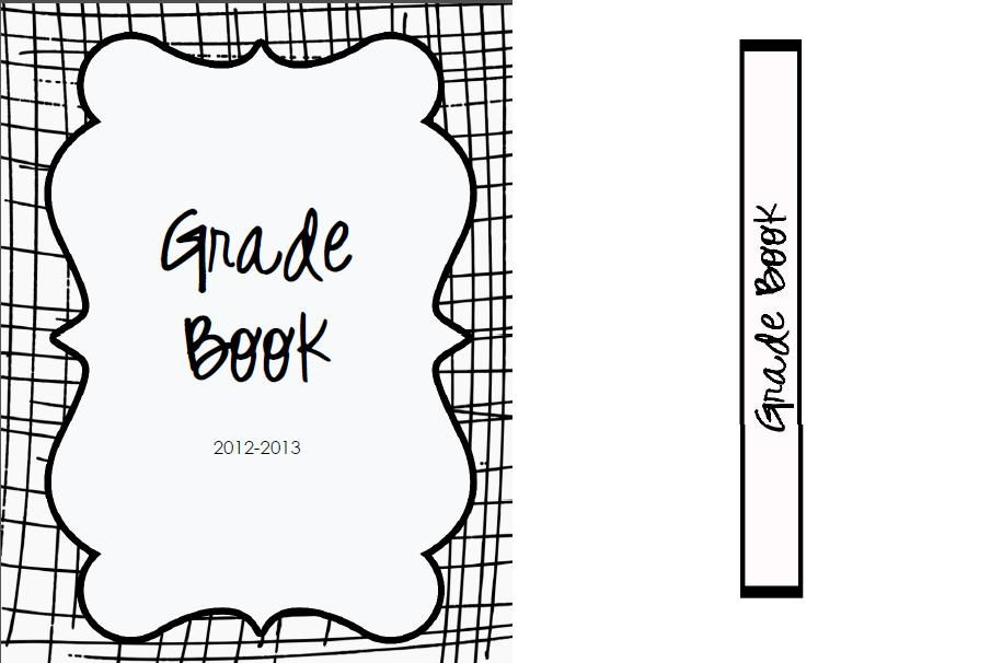 The Real Teachr: Creating a Grade Book- FREE Binder Cover