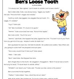 3rd Grade Comprehension Worksheets [ 1650 x 1275 Pixel ]