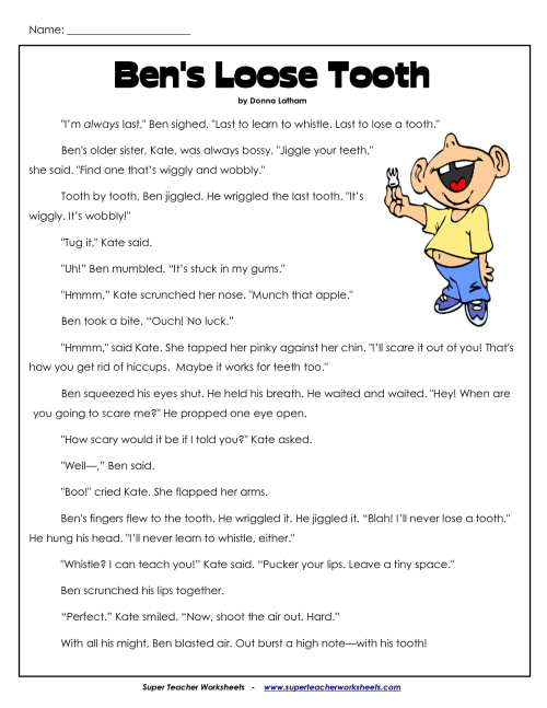 small resolution of 3rd Grade Comprehension Worksheets