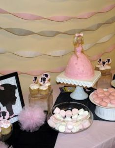My Friend Jessica Did The Cutest Barbie Birthday Party For Her Year Old Daughter Also Diy