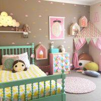 20 Whimsical Toddler Bedrooms for Little Girls | Pillows ...