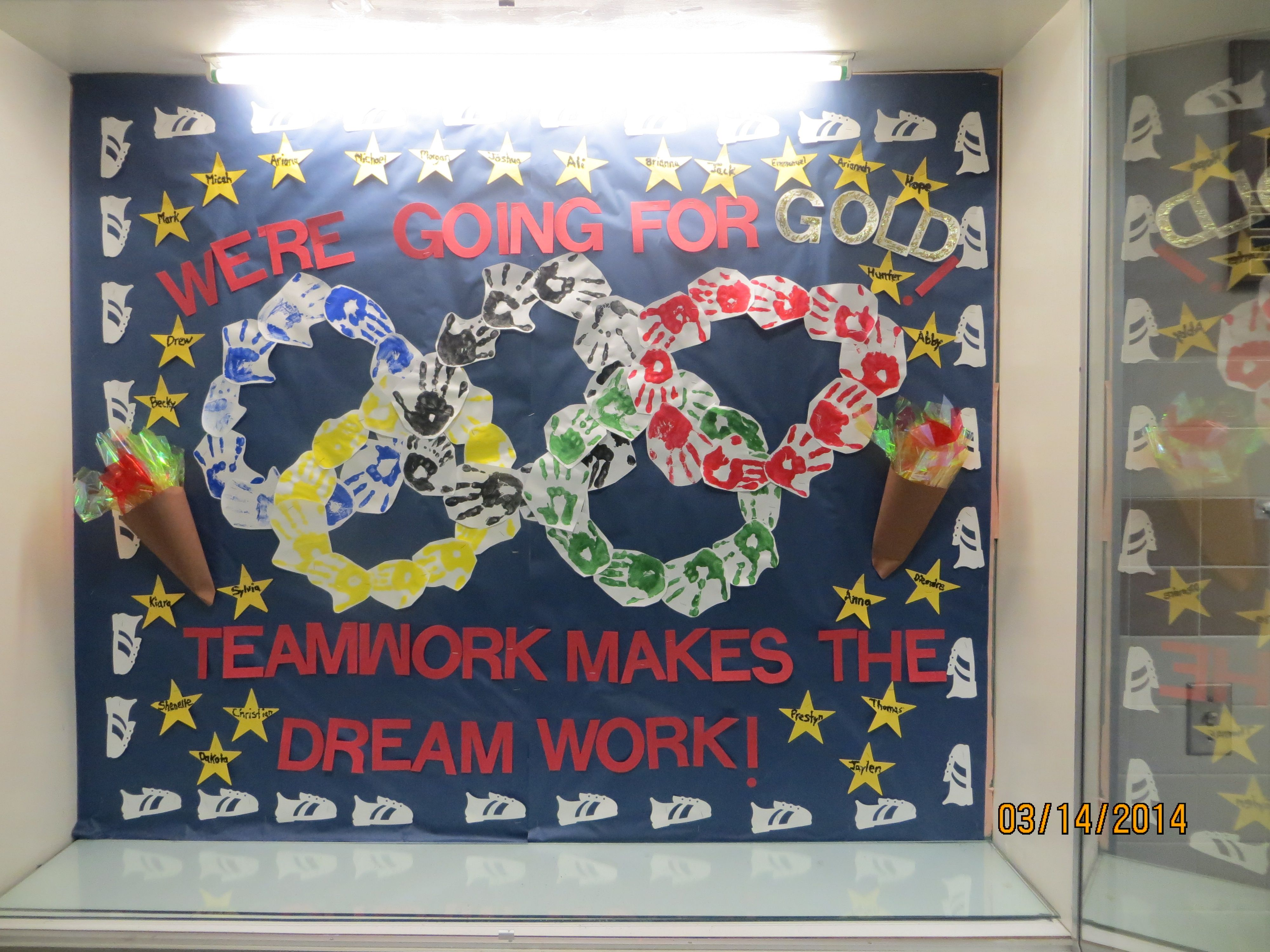 Special Olympics Bulletin Board