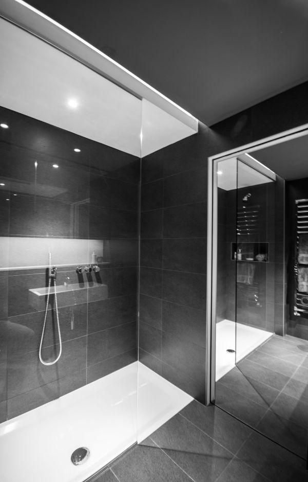 Walk-In Shower Ceiling Light