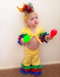 Toddler girl costume. Carmen miranda. Chiquita banana ...