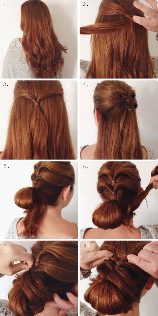Lazy Girl Hairstyle 11 #hairstyles #lazygirl #tutorial