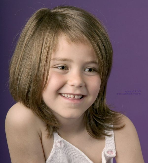 30 Mid Length Hairstyles Little Girls Hairstyles Ideas Walk The