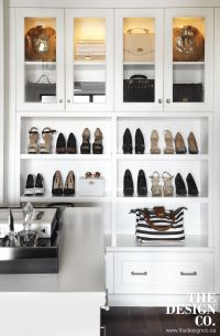 fashion closet, custom closet, shoe display, walk-in ...