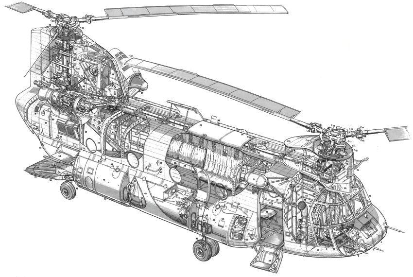 HCII_Chinook_helicopter_Cutaway_drawing.jpg (850×570