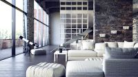 Urban Loft Design Ideas | The second loft space was ...