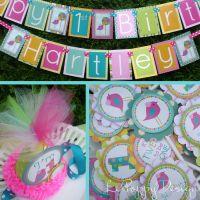 Bird Birthday Party Decorations -   Party Ideas   Pinterest