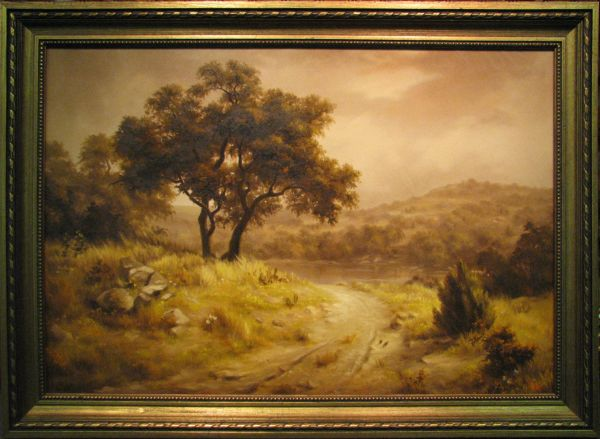 Exclusive Collector' Item Dalhart Windberg 24 X36 Size Representing Art Collector