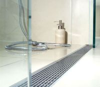 The Shower Channel With Linear Grate from Quartz by ACO ...