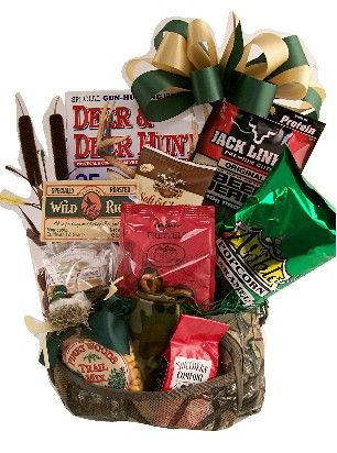 A Hunting We Will Go Gift Basket Gift ideas Pinterest
