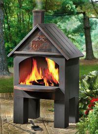 metal chiminea fire pit   3   Pinterest   Chiminea fire ...