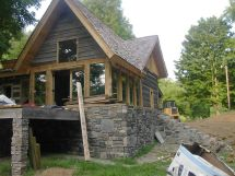 Small Timber Frame Home House Plans