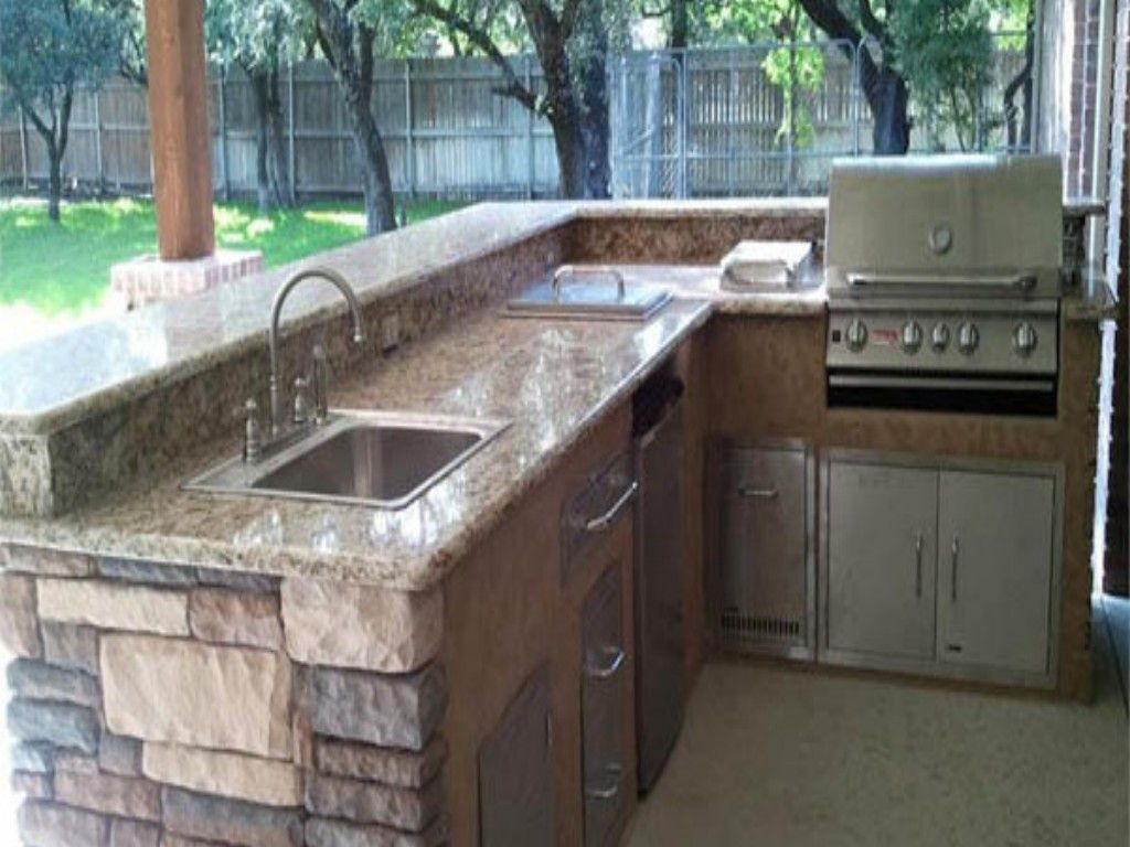 L Shaped Outdoor Kitchens  Best L Shaped Outdoor Kitchen