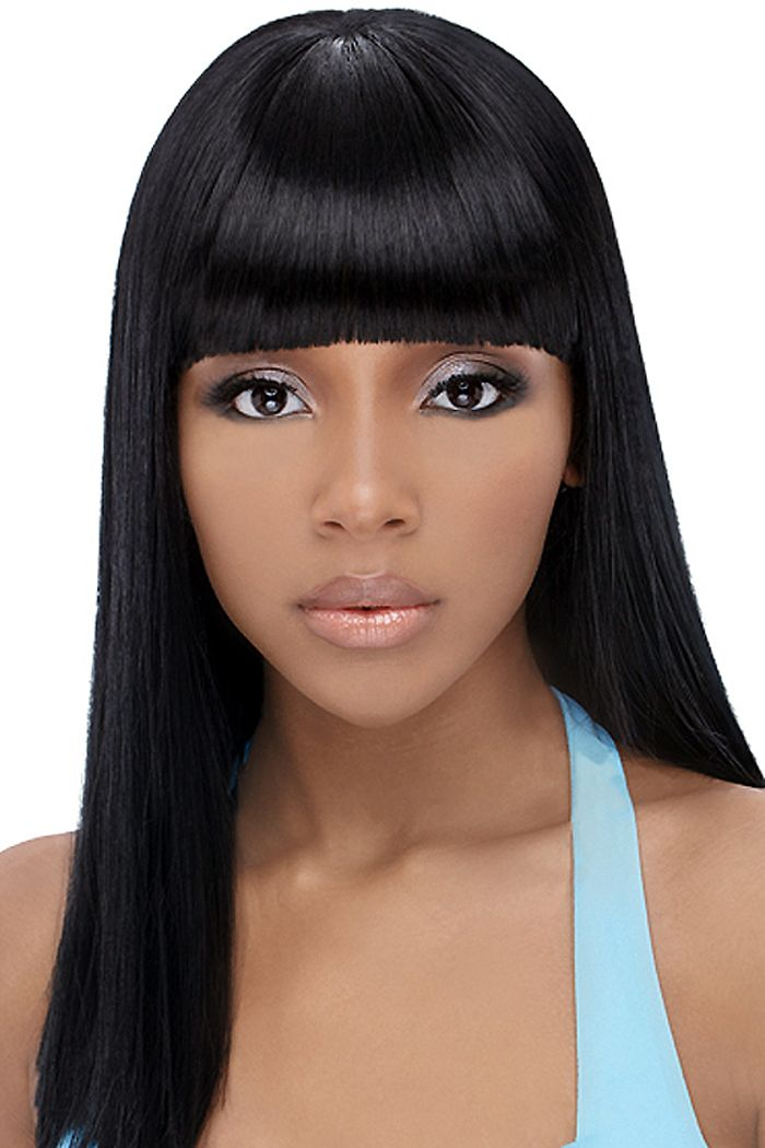 Nice Popular Black Teenage Hairstyles 2017 With Fringe