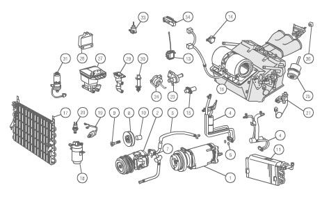 1992 mercedes 500sl wiring diagram hand off auto search - parts and accessories | pinterest