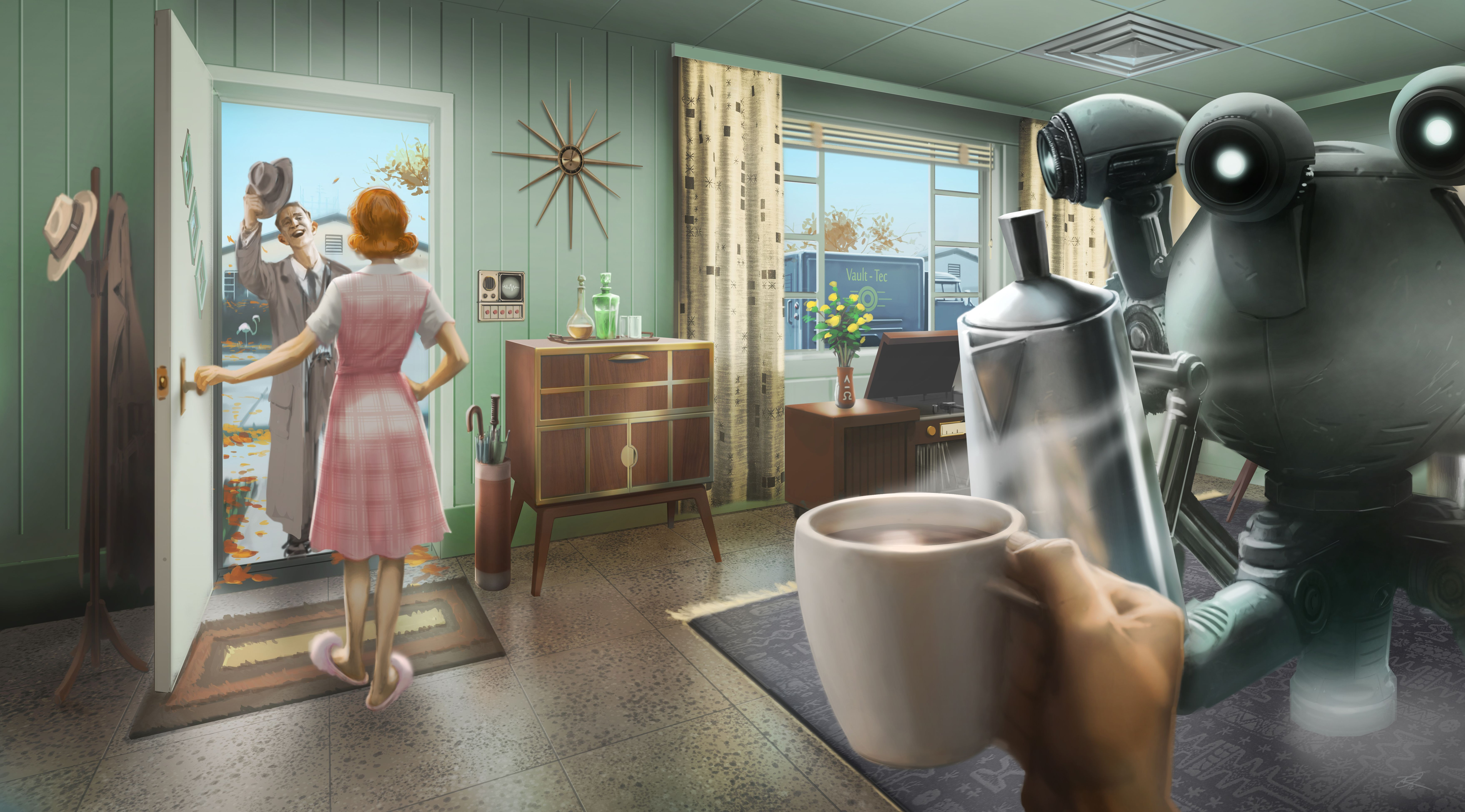 Fallout 4s Concept Art Is Wallpaper Worthy Polygon