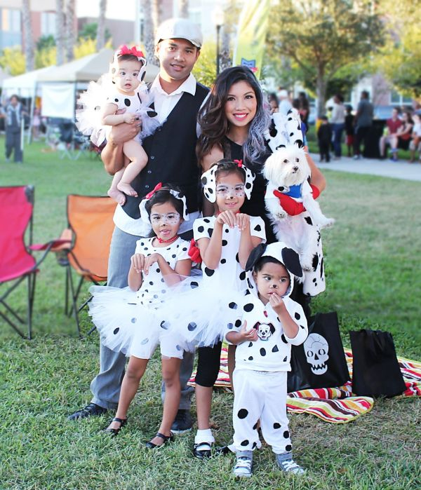 Dalmatians Family Costume 2014 Halloween