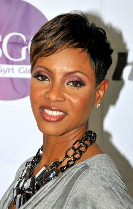 Short Hairstyles For Black Women With Thin Hair Look Thick Short