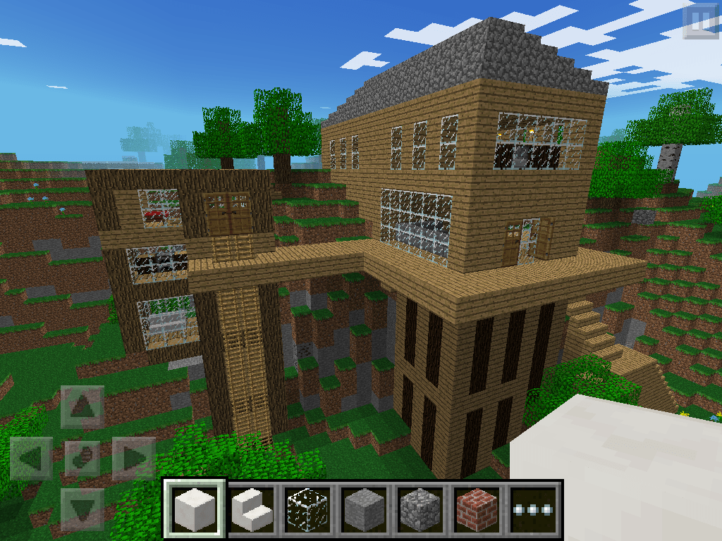 house ideas for minecraft pocket edition
