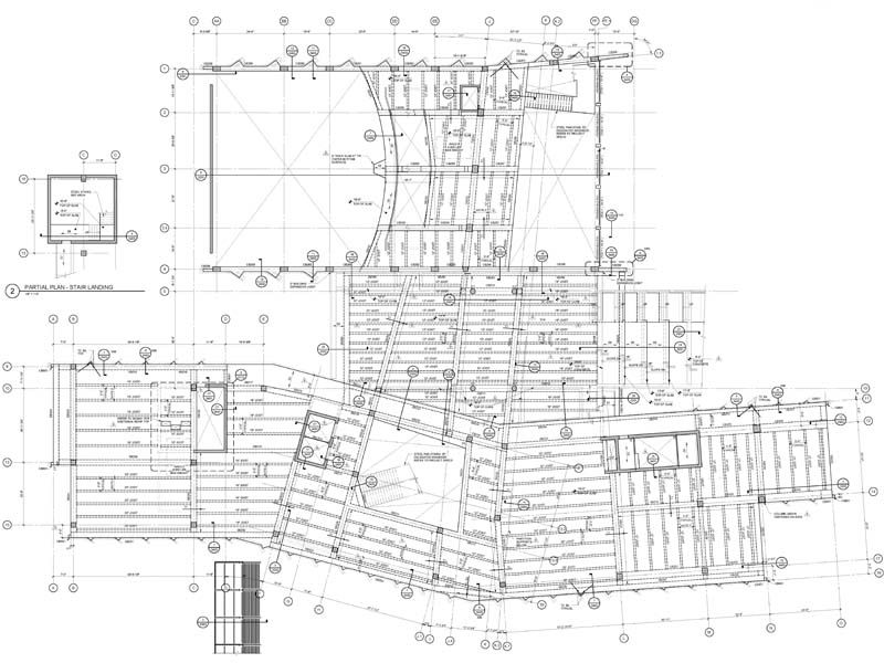 We develop high detailed structural steel shop drawings