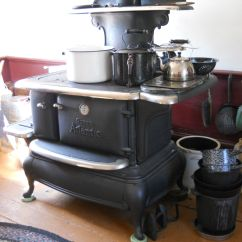 Kitchen Cook Stoves Tiny Table Queen Atlantic Cooking Stove In Olden Day Home Https