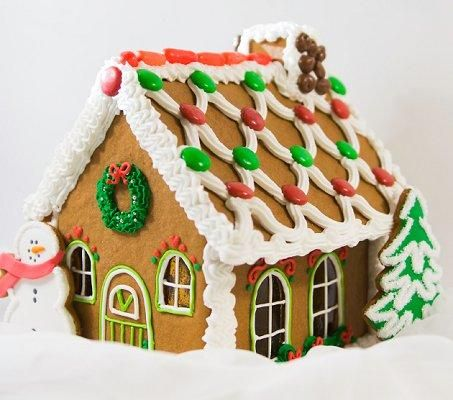 Pictures Of Gingerbread Houses Slideshow Gingerbread House