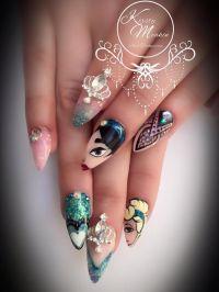 Kirsty Meakin Nail Art, Disney Princesses | NAIO NAILS ...