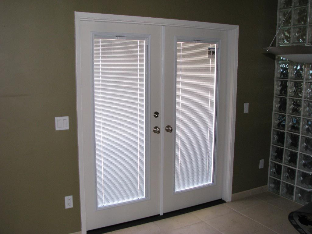 home depot french doors with blinds
