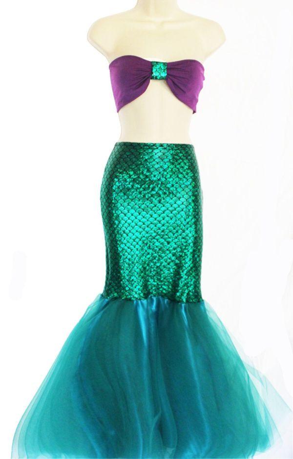 Mermaid Princess Adult Tail