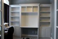 bookcase for desk built in | Roselawnlutheran